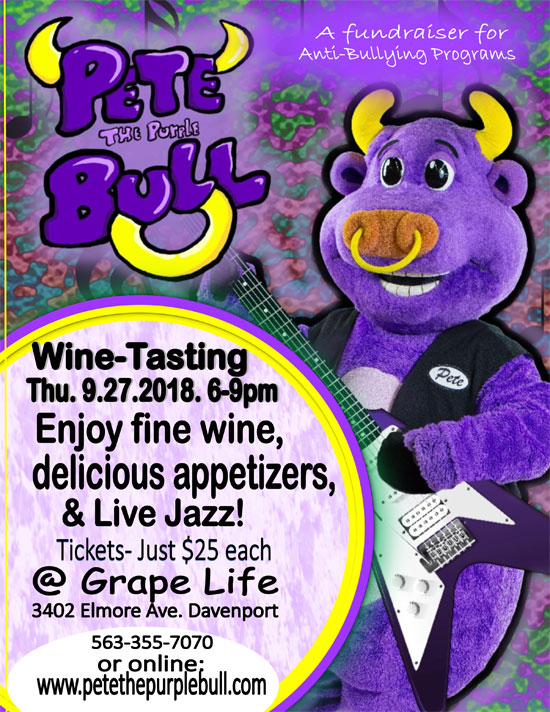 Pete's Wine-Tasting at the Grape Life